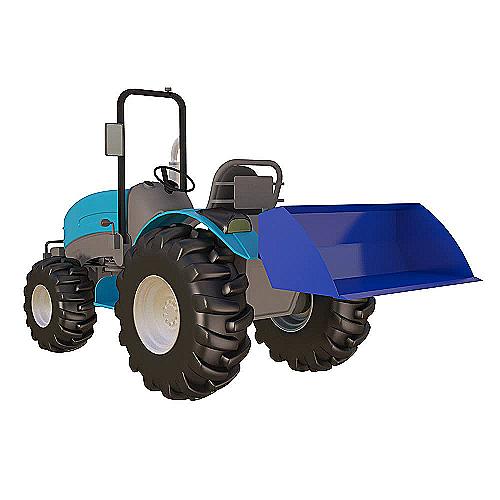 Ковш для мини трактора - 0