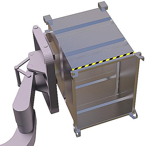 Поворотный ковш VTR на погрузчик - 39