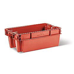 Пищевой пластиковый ящик тип Е для мяса, фарша, птицы
