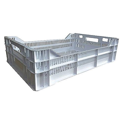 Пищевой пластиковый ящик тип K1 для мяса и мясных изделий