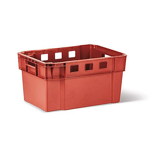 Пищевой пластиковый ящик тип М50 для мяса, фарша, птицы