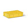 Пищевой пластиковый ящик тип НЛУ для кулинарных и хлебобулочных изделий