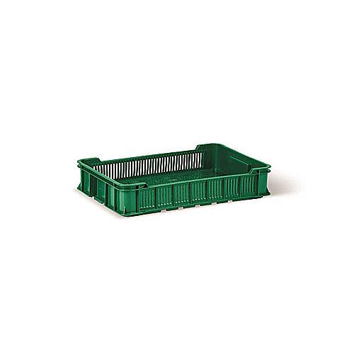 Пищевой пластиковый ящик тип ОЗН для овощей и фруктов