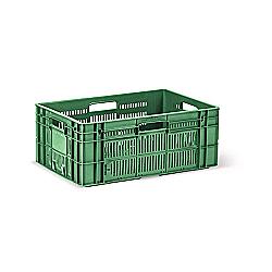 Пищевой пластиковый ящик тип ОЗС-2 для овощей и фруктов