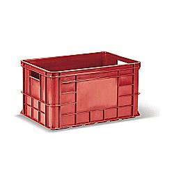 Пищевой пластиковый ящик тип ОЗТ-50 c лого для мяса и мясных изделий