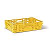Харчовий пластиковий ящик тип ПЛ1 для хлібобулочних і кондитерських виробів