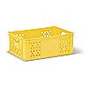 Пищевой пластиковый ящик тип С220 для хлебобулочных и кондитерских изделий