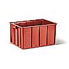 Пищевой пластиковый ящик тип Т 50 для мяса и мясных изделий